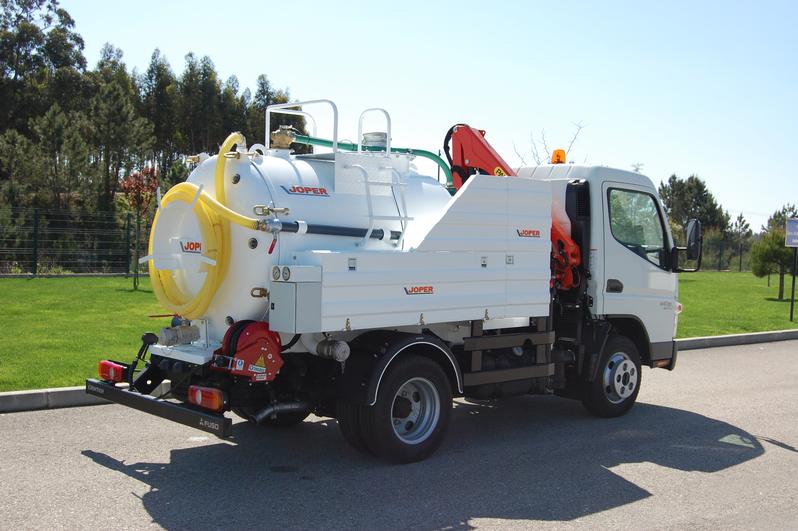 Joper equipamentos industriais cisterna para limpeza for Silenciador cisterna